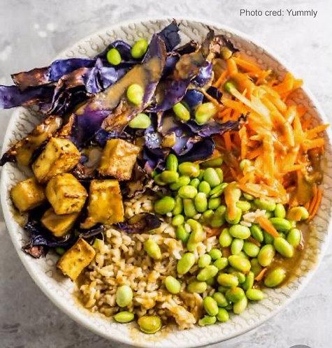 Edamame Bowl (Vegan/GF)