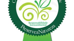 Vertical Garden recebe certificado ambiental que reconhece suas boas práticas sustentáveis