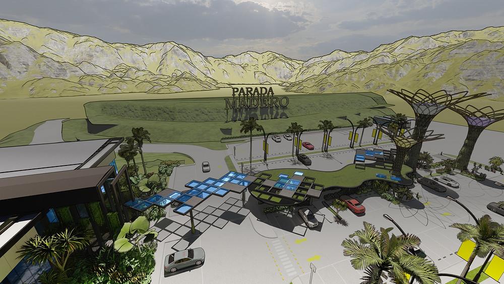 Projeto 3D Vertical Garden
