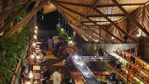 Paisagismo no Ello Restaurante com Mareines Arquitetura e Vertical Garden