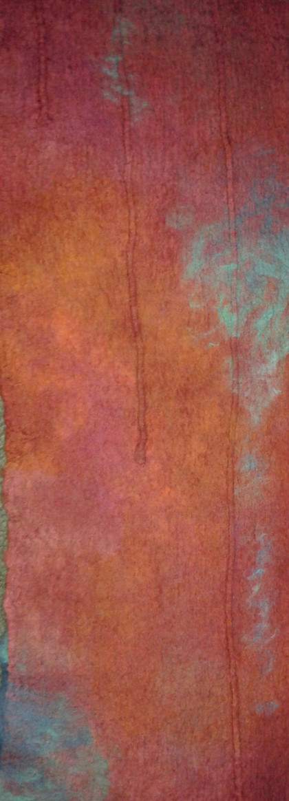 Copper and verdigris (detail)