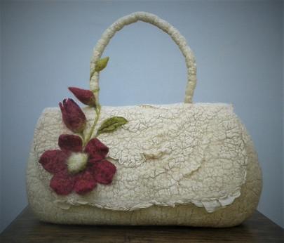 Nuno Felt Handbag.