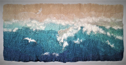 Beach and Seagulls