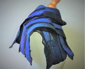 Blue Nuno Scarf.