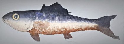Giant Fish Wall Hanging