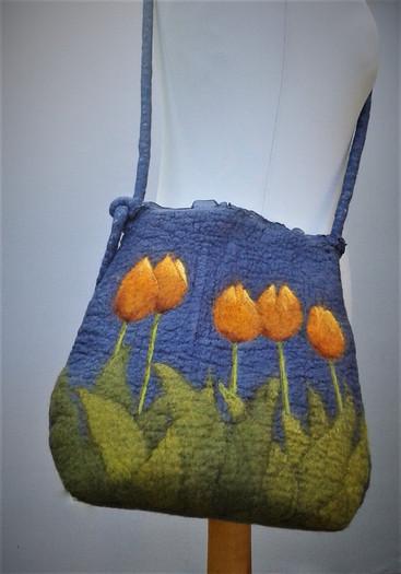 Nuno Felt Tulip Bag.