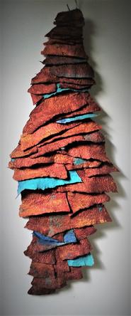 Felt Copper Scales