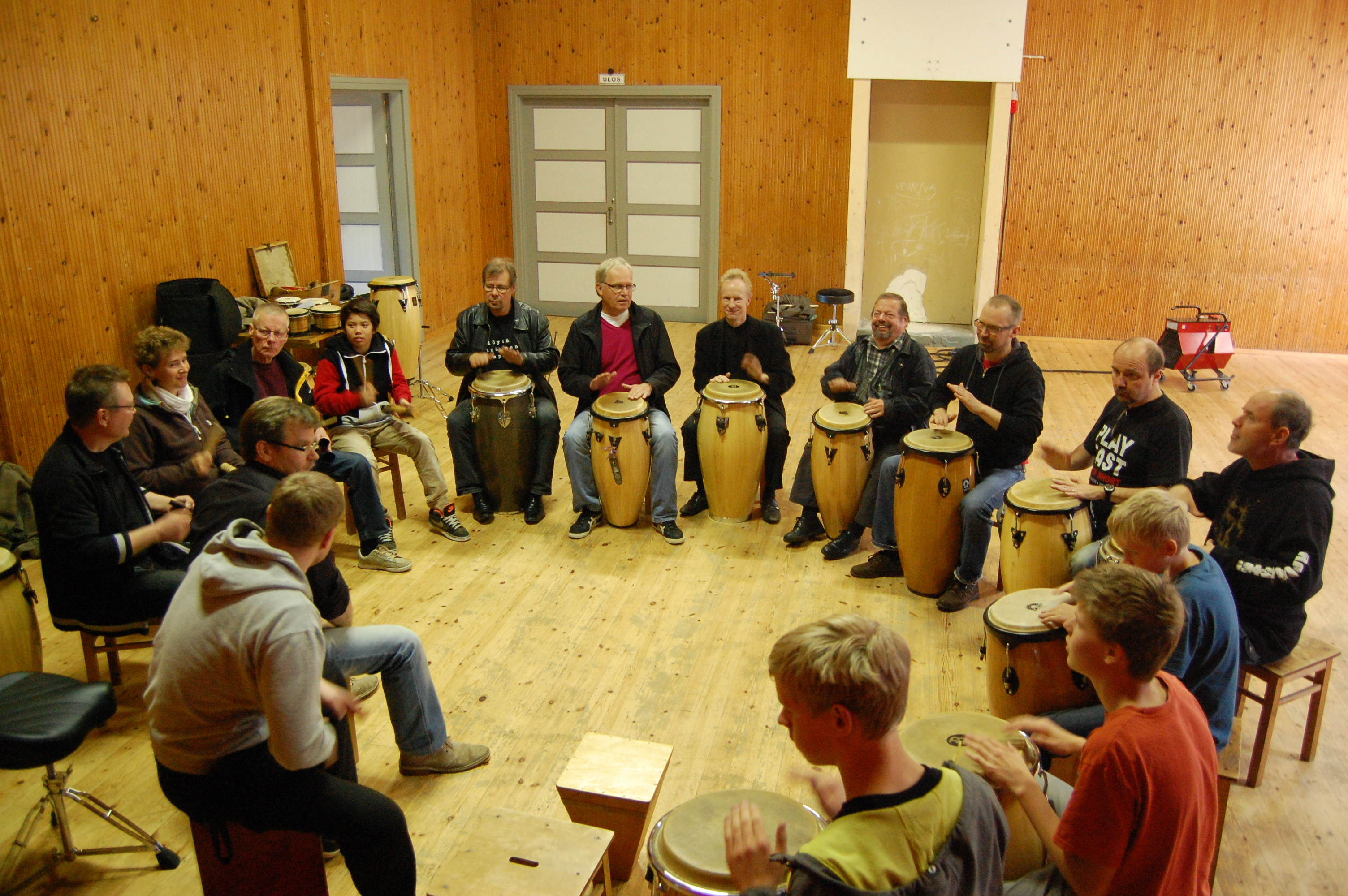 Rumba workshop in 2011