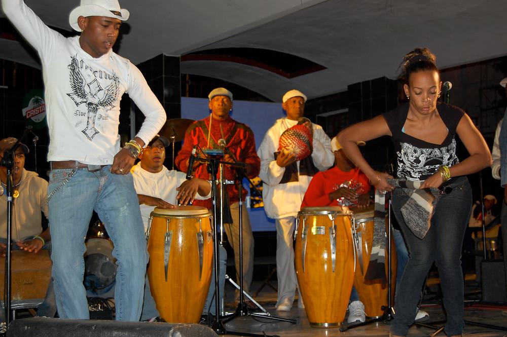 Los Muñequitos de Matanzaz keikalla Havannassa 2009