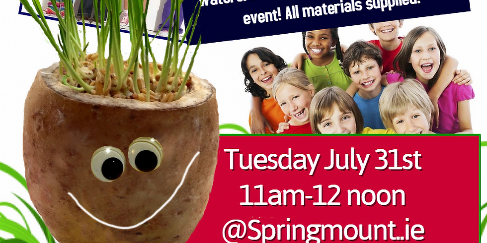 FULLY BOOKED - Kids Fun at Springmount Tuesday 31st July