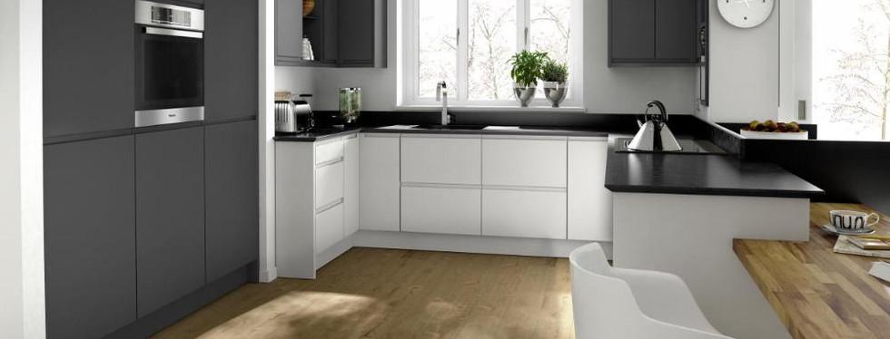 Handleless Kitchens Remo Matt Graphite.j