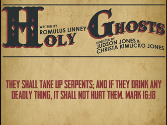 Holy Ghosts by Romulus Linney