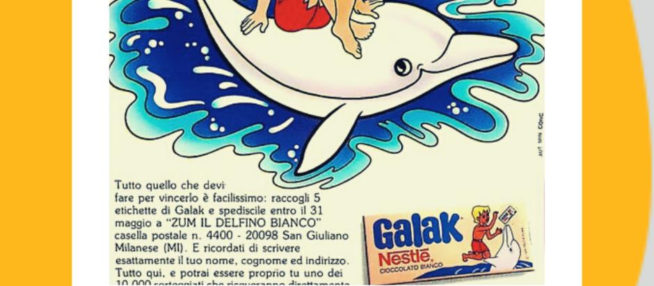 Galak e il delfino bianco Zum