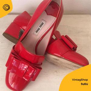 miu miu, scarpe vintage