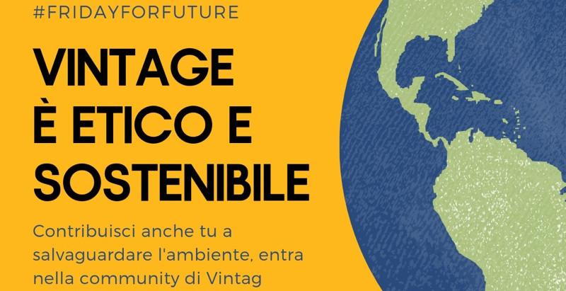 Vintage è etico e sostenibile