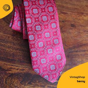 cravatta, vintage, vintag