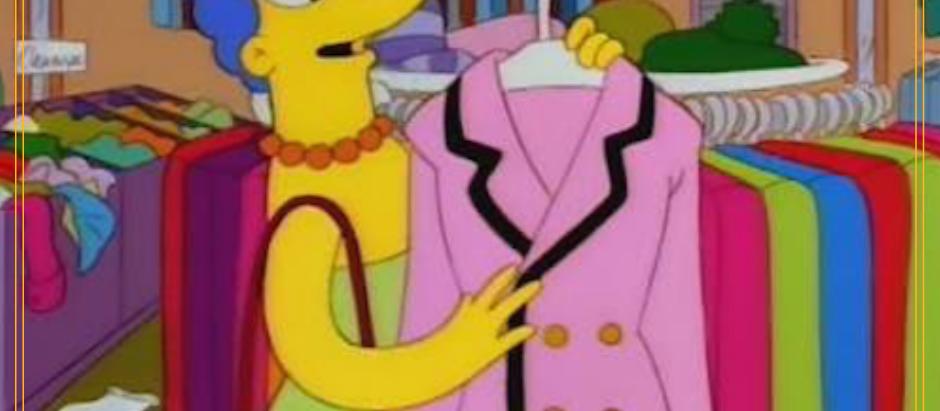 I Simpson: scena di lotta di classe a Springfield (1996)