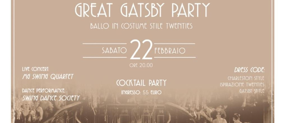 Let's celebrate the GREAT GATSBY PARTY!