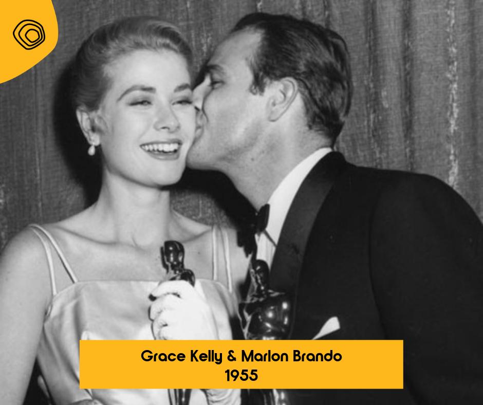 Grace Kelly & Marlon Brando - 1955