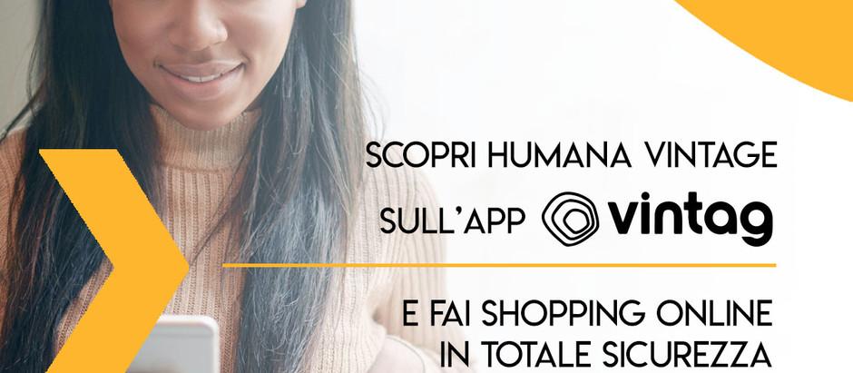 Moda etica e sostenibile: HUMANA VINTAGE online insieme a VINTAG