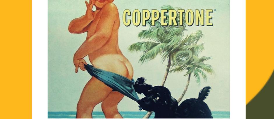 La storia della crema solare Coppertone