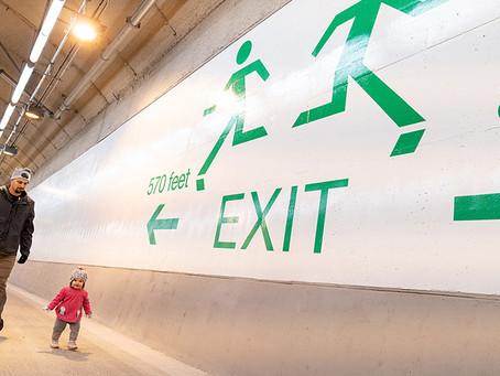 Step Forward – SR99 tunnel grand opening