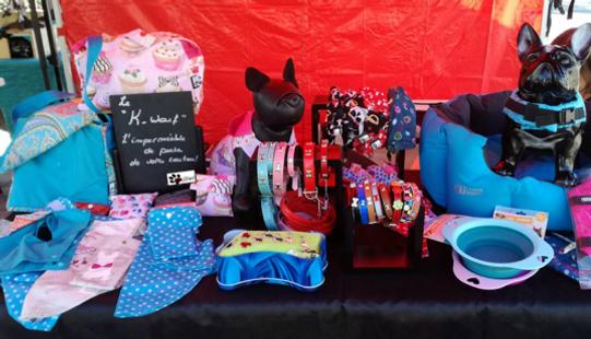 Etale marché artisanal/Sanysiwel