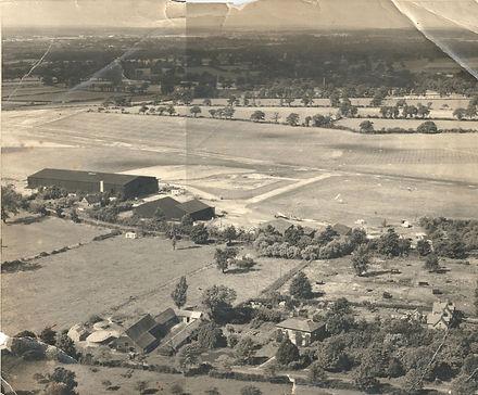 Old Image Elstree Aerodrome