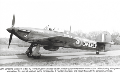 Hawker Hurricane at Elstree