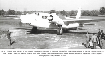 Coastal Command Wellington Elstree