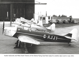 Elstree Flying Club 1953 Training