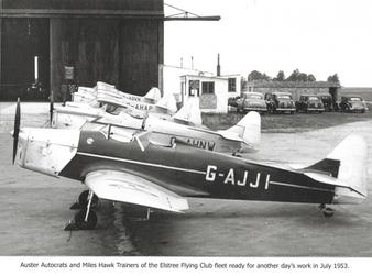 Elstree Flying Club 1953 Training
