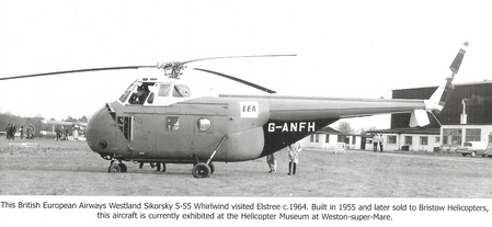 Whirlwind Helicopter at Elstree