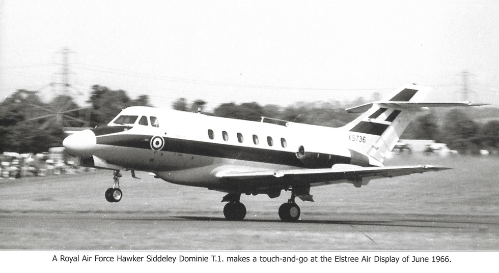 Hawker Siddley Jet at Elstree