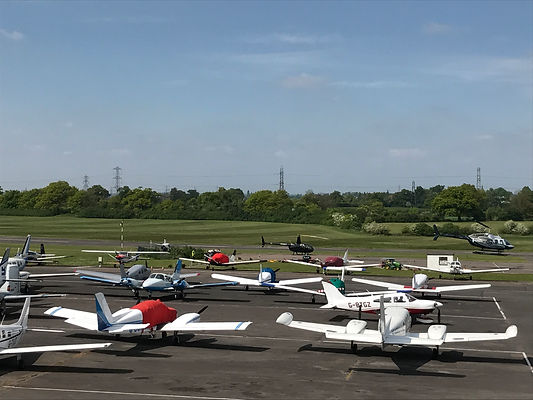 Aeroplanes at Elstree