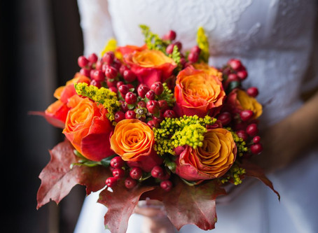 5 Fabulous Flowers for your Fall Weddings