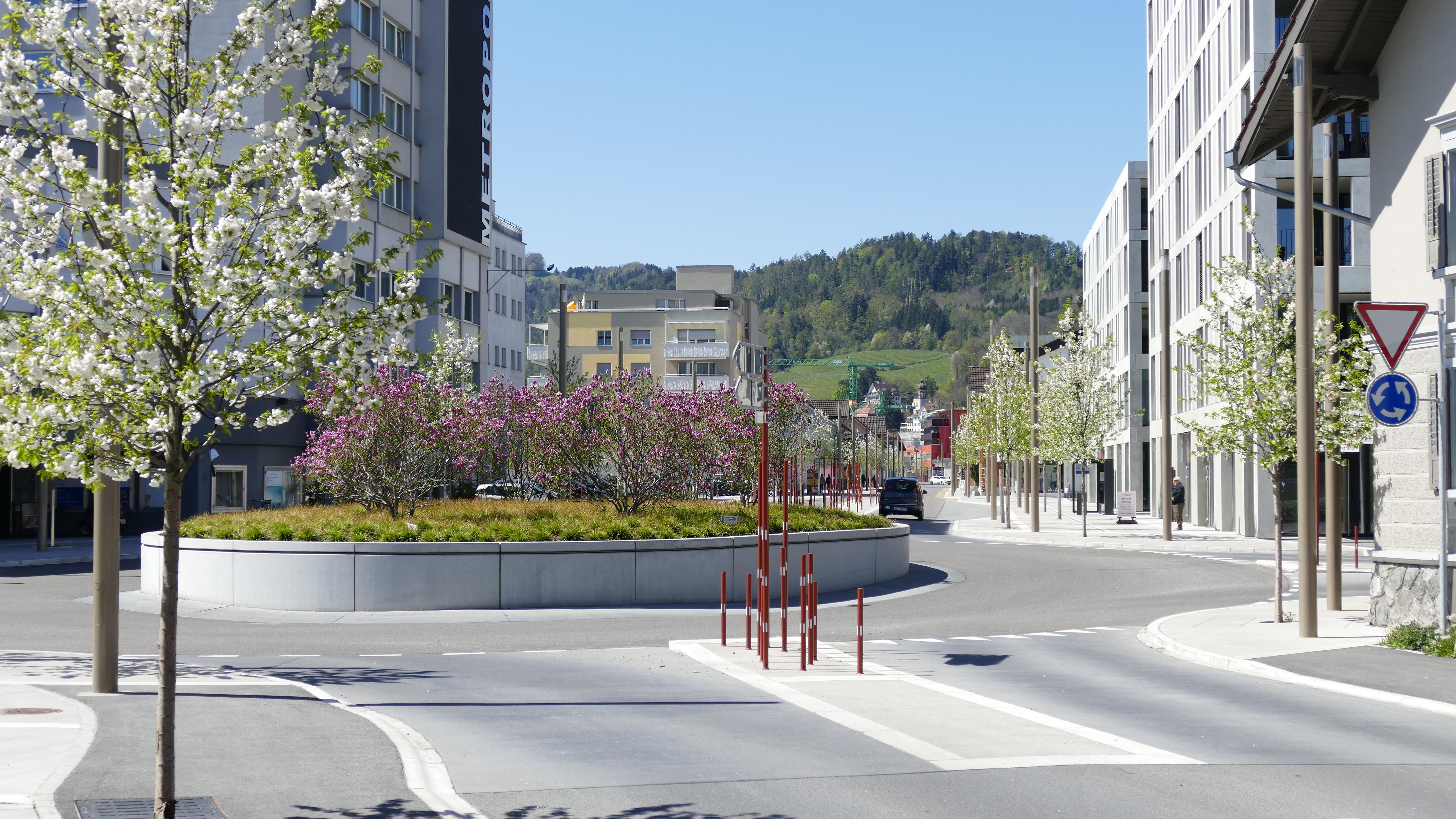 Bahnhofstrasse - Metropolkreisel