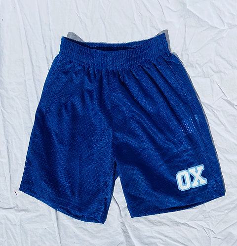 OX BLUE ATHLETIC SHORTS