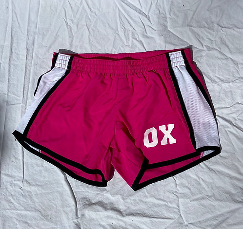 OX PINK ATHLETIC SHORTS