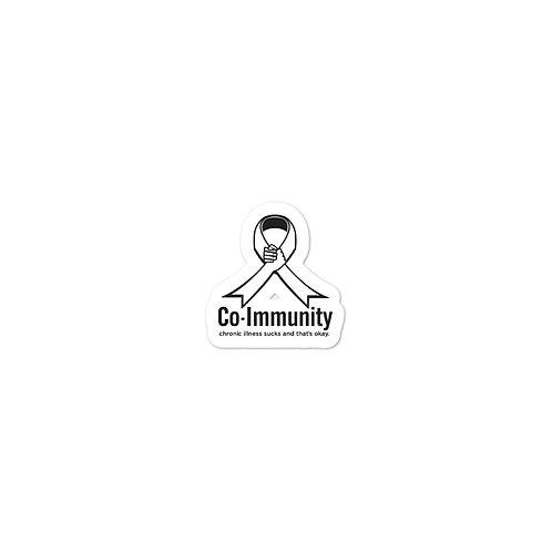 Logo Bubble-free stickers