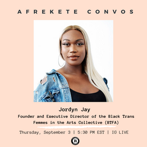 Event-US-Afrekete Convos with Jordyn Jay