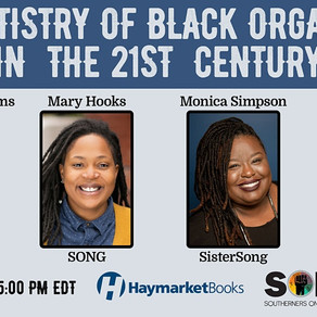 Event -US-The Artistry of Black Organizing in the 21st Century