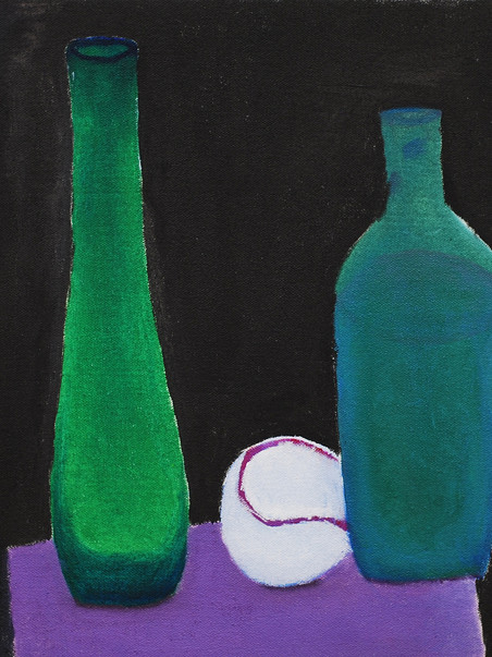 Untitled (Still Life with Baseball)