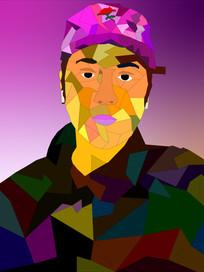 Shaped Self Portrait