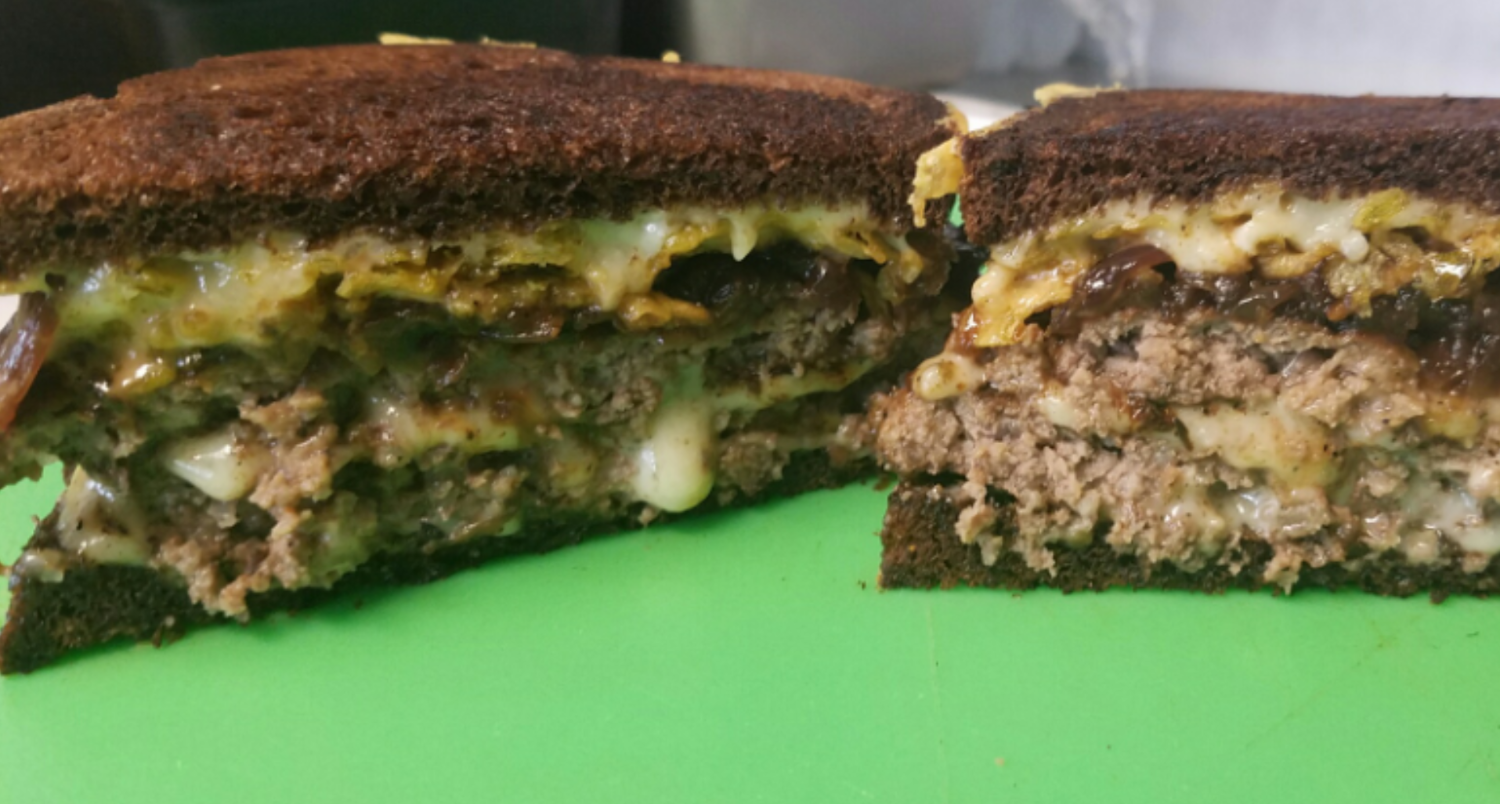 Patty Melt - Main Street Melts Food