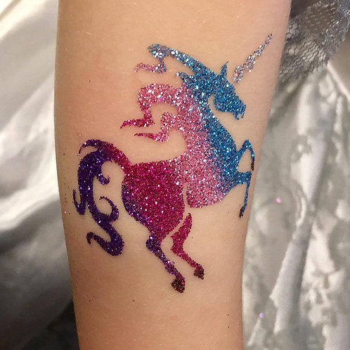 Glitter Temporary Tattoos