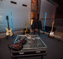 Backline instruments and equipment