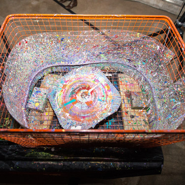 Vinyl Spin Art