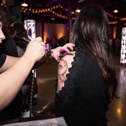 Airbrush Tattoo Artist