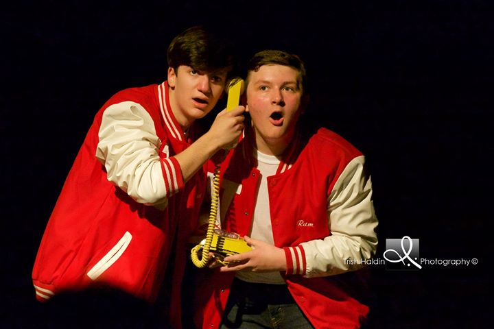 Tucker and Tyler in Heathers.